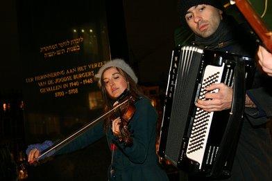 Optreden Caspian Hat Dance